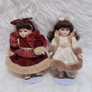 Cute Porcelain Dolls Winter Bundle